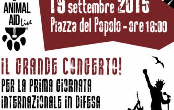 """""""Animal Aid Live"""" Roma: il primo concerto animalista italiano"""