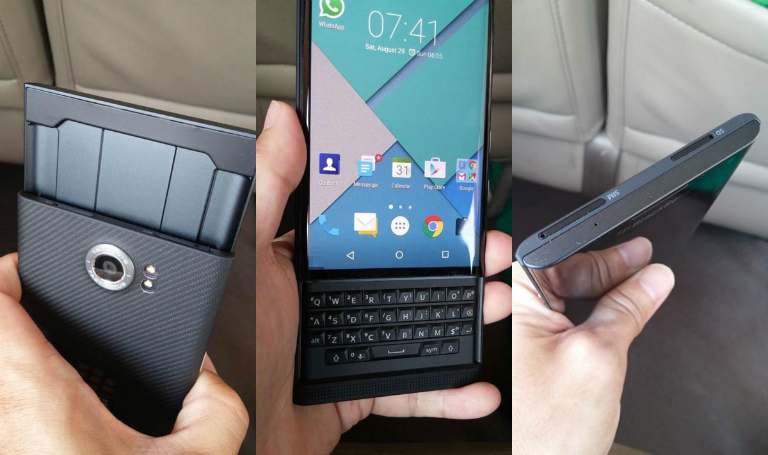 BlackBerry Priv Uscita