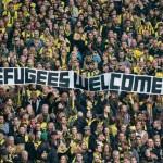 l'aiuto del calcio all'emergenza migranti