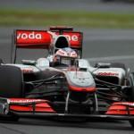 Button McLaren ritiro
