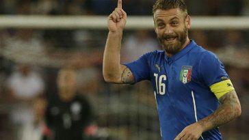 De Rossi addio nazionale