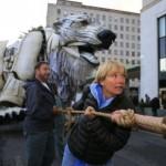 orso polare gigante greenpeace