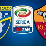 Frosinone Roma diretta live
