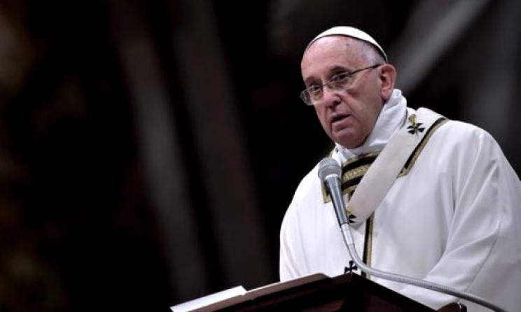 papa francesco intercettato