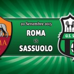 Roma Sassuolo diretta live