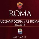 Sampdoria Roma diretta live
