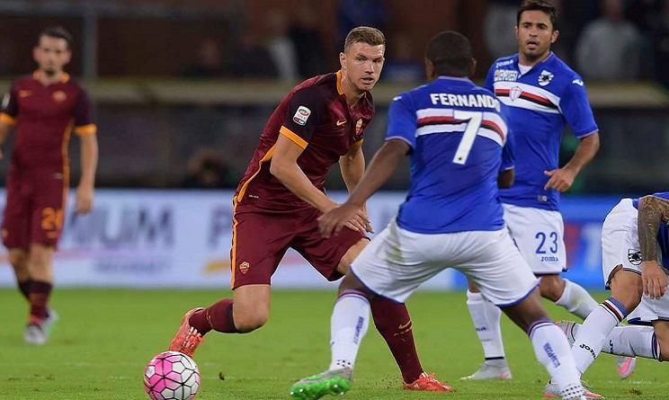 Sampdoria Roma diretta tv