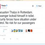attentato treno rotterdam