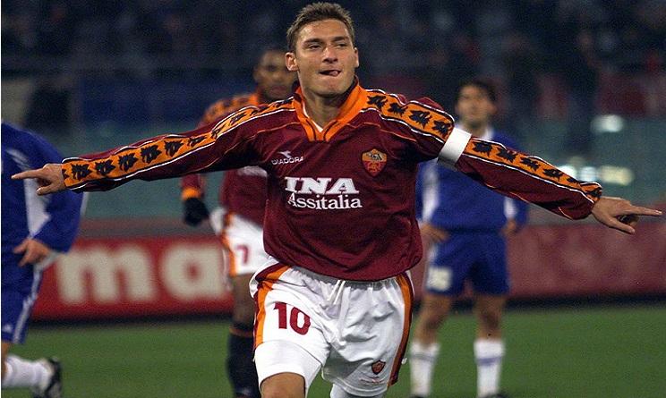 Totti 300 gol in carriera