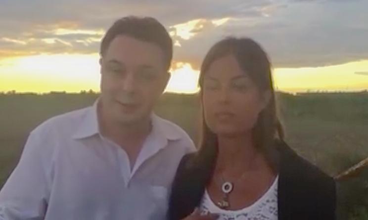 Sara Tommasi e Andrea Diprè