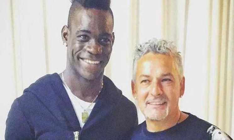Baggio incontra Balotelli