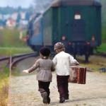treno a vapore Sagra Castagne 2015