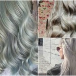 Colore capelli autunno inverno 2015, colore grigio argento, colore capelli tendenze