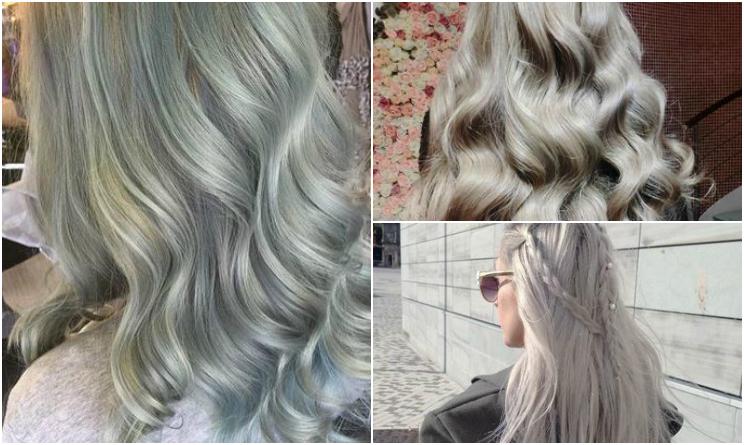 Colore capelli autunno inverno 2015 il grigio argento - Bagno di colore grigio capelli ...