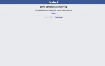 Facebook down oggi, 11 ottobre 2017: nuovi problemi in tutto il mondo