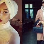 H&M, modella musulmana con il velo, campagna pubblicitaria h&M