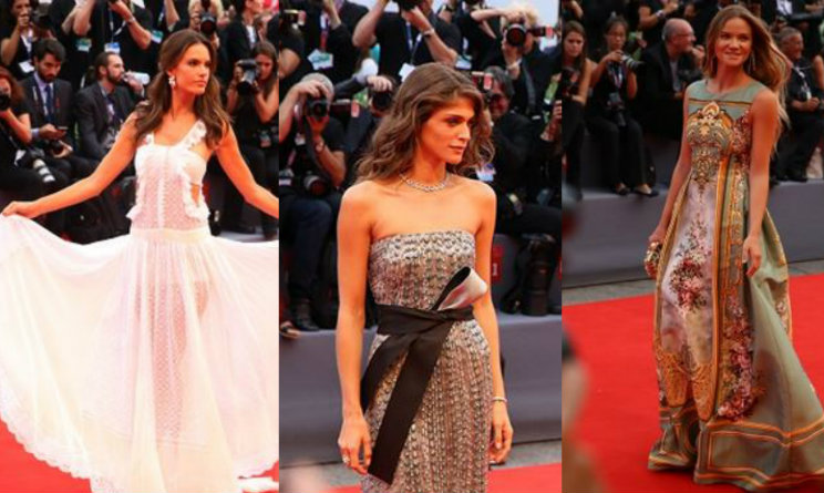 red carpet venezia 72