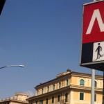 roma crolla soffitto metro