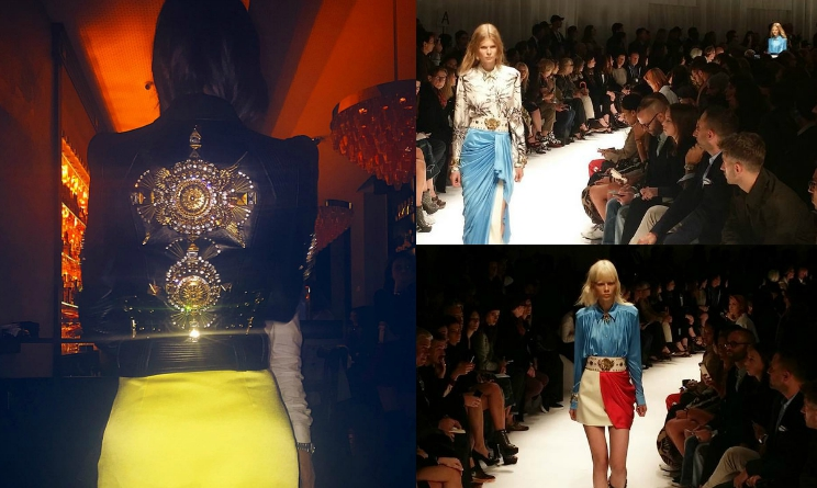 Milano Fashion Week 2015, Belen Rodriguez stile, abiti Fausto Puglisi