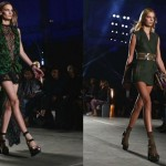 Milano Fashion Week settembre 2015, look Versace, look militare