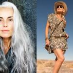 yasmina rossi, modella 60 anni