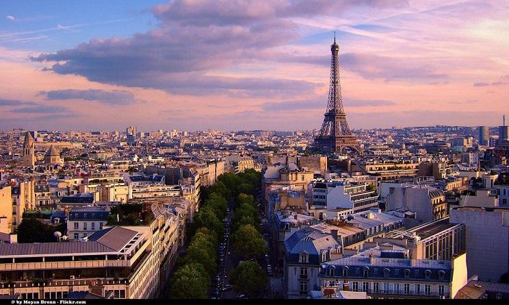 Parigi Strage di Parigi atmosfera
