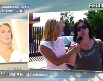 Pomeriggio 5 anticipazioni puntata 1 settembre: news sui coniugi uccisi a Catania