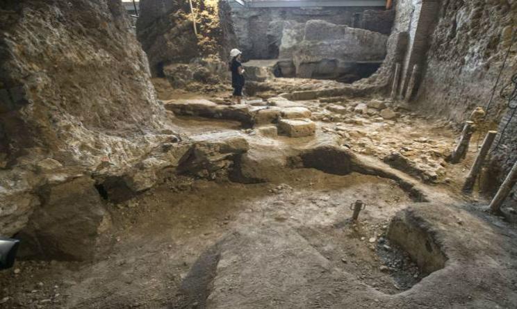 Dimora arcaica VI secolo a.c