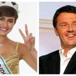 Renzi e Miss Italia