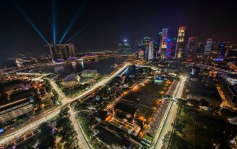 Formula 1, GP Singapore: un pedone in pista, ecco il video