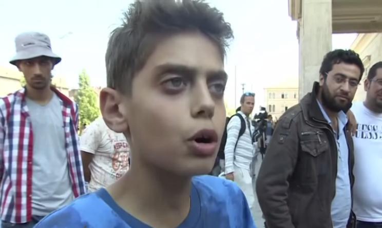 parole ragazzo siriano