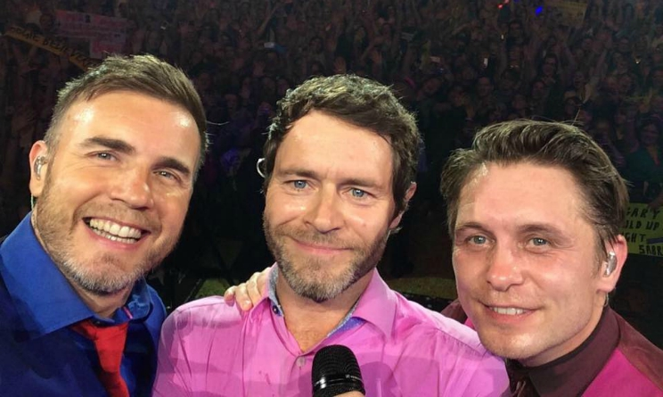 Take That Tour 2015, take that milano