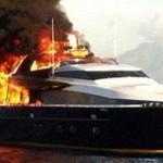 de laurentiis incendio yacht