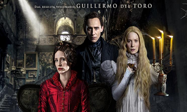 film in uscita cinema ottobre 2015, crimson peak trama, crimson peak cast