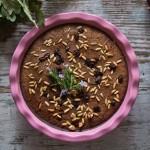 Castagnaccio La prova del cuoco ricetta fotografata