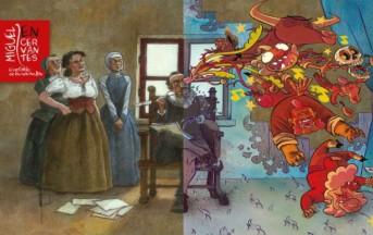 Napoli, Cervantes a Fumetti: la mostra gratuita racconta la vita dello scrittore spagnolo