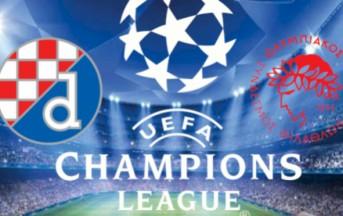 Dinamo – Olympiakos Diretta Live Champions League, risultato finale: 0-1