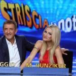 Striscia La Notizia Ezio Greggio e Michelle Hunziker