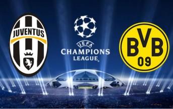 Juventus – Borussia, Diretta Live Champions League, risultato finale: 0-0