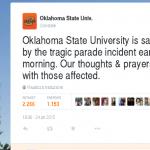 tragedia usa auto piomba su corteo