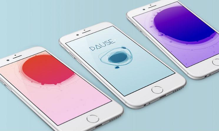 la app per iOS per rilassarvi