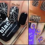 unghie halloween 2015, unghie halloween facili, unghie halloween semplici, unghie halloween decorazioni, nail art per halloween,
