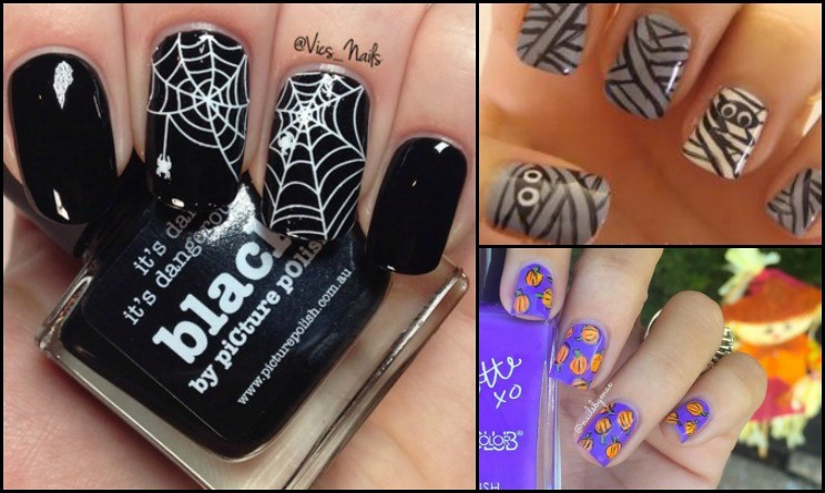 Nail Art Halloween Facili Together With 10 Idee Nail Art Per Halloween ...