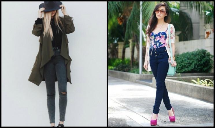 sports shoes 9b27a e837d Tendenze moda autunno inverno 2015: come abbinare i jeans a ...