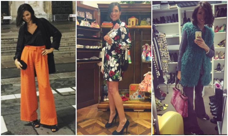 Look da vip 3 outfit di Caterina Balivo secondo le tendenze moda autunno  2015  d35d67ebd4c1