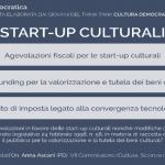 proposta legge startup culturali