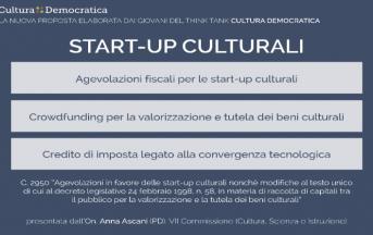 "Startup culturali, la proposta di legge: Castorina, ""In Italia c'è bisogno di startup"" [INTERVISTA]"