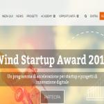 wind startuo award acceleratore