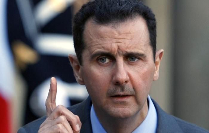 raid in siria parla assad