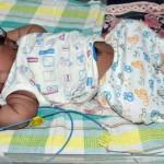 India, neonato più pesante